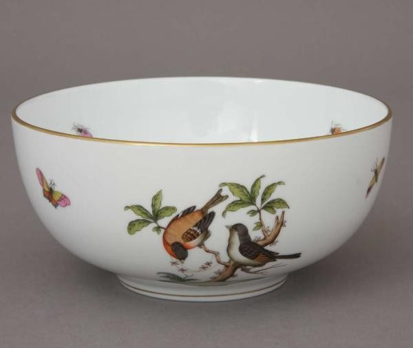 Big Oriental Bowl - Rothschild Bird