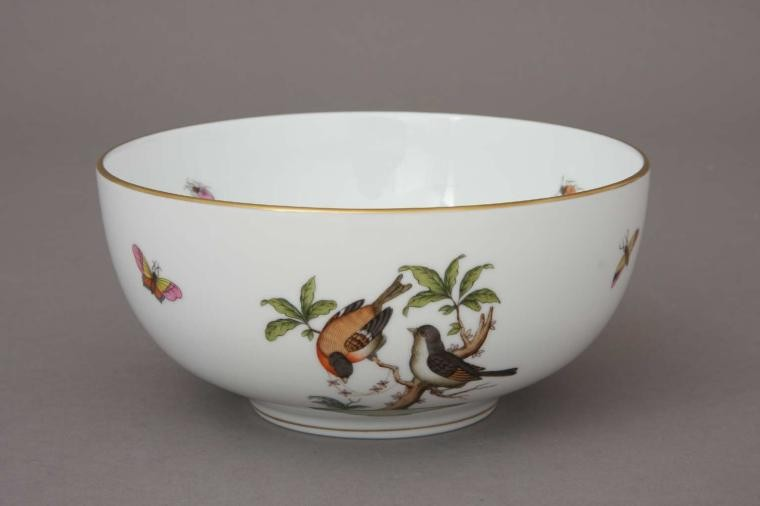 Big Oriental Bowl - Rothschild Bird