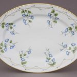 Medium Oval dish - Morning Glory