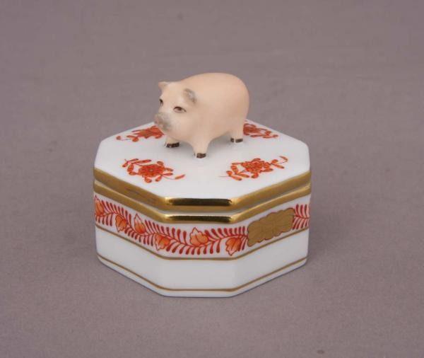 Fancy box, pig knob