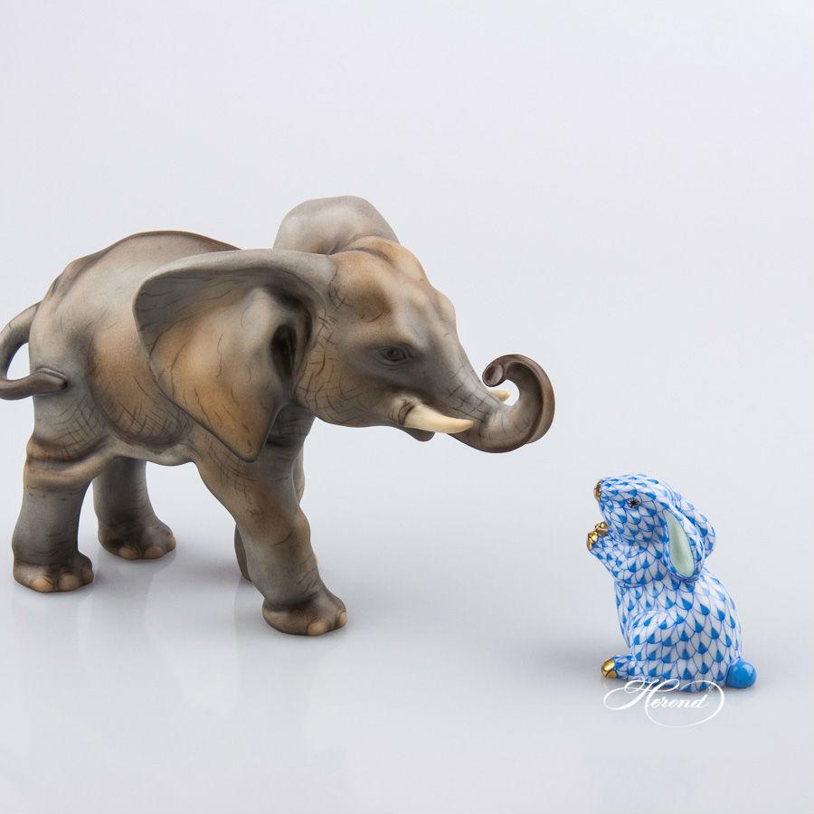 Herend Baby Elephant Figurine 15086