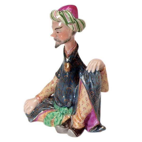 Sitting Persian Figurine - Herend Porcelain