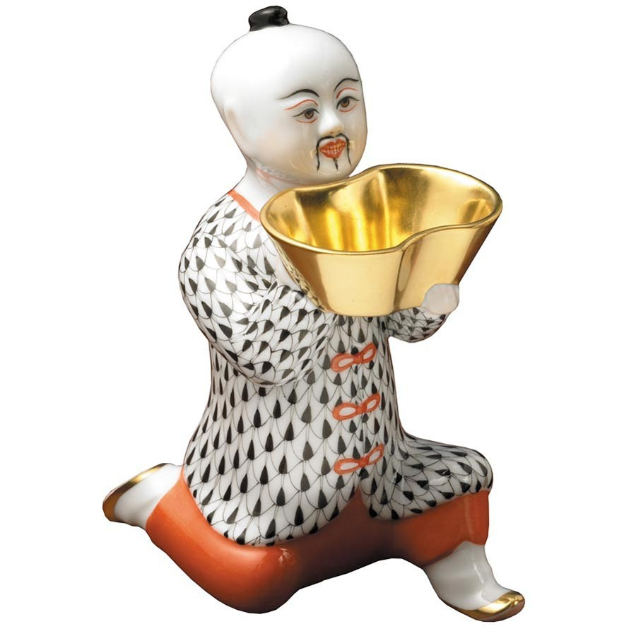 Chinese, kneeling, big