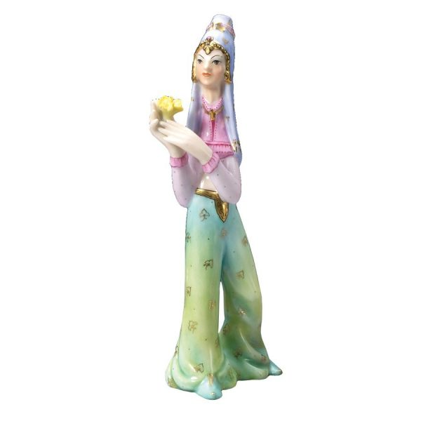 Persian Dancer Figurine - Herend Porcelain