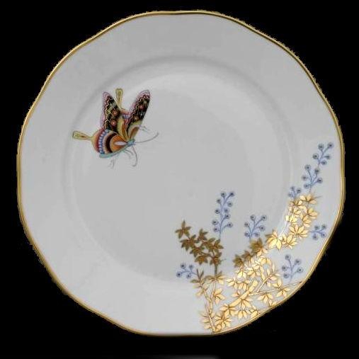 Salad Plate - Bamboo & Butterfly