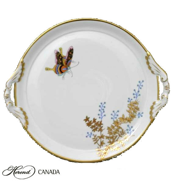 Cake Plate - Bamboo & Butterfly
