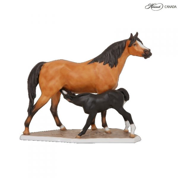 Sucking horse