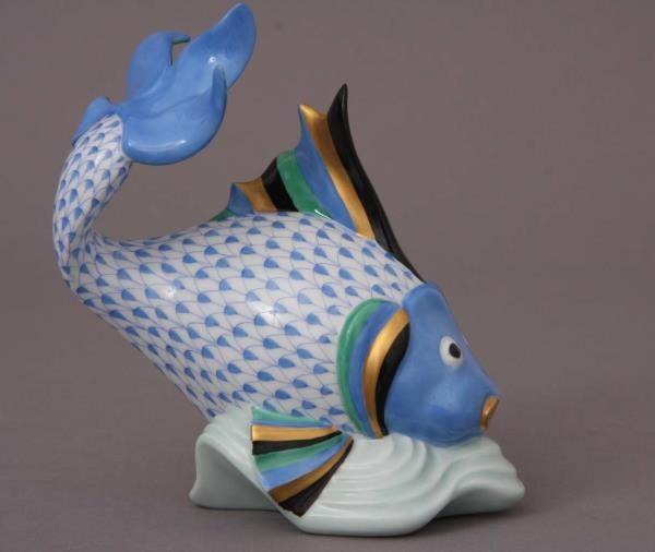 Herend Koi FIsh Carp figurine animal