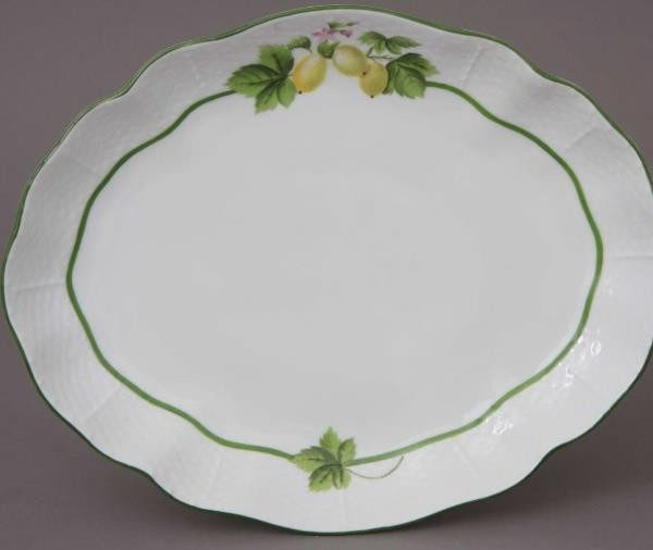 Oval dish - Fruits of Forest