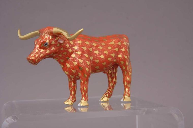 Texas longhorn bull - Full Fishnet