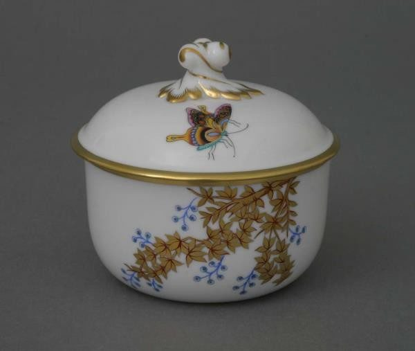 Sugar basin, twisted knob - Bamboo & Butterfly
