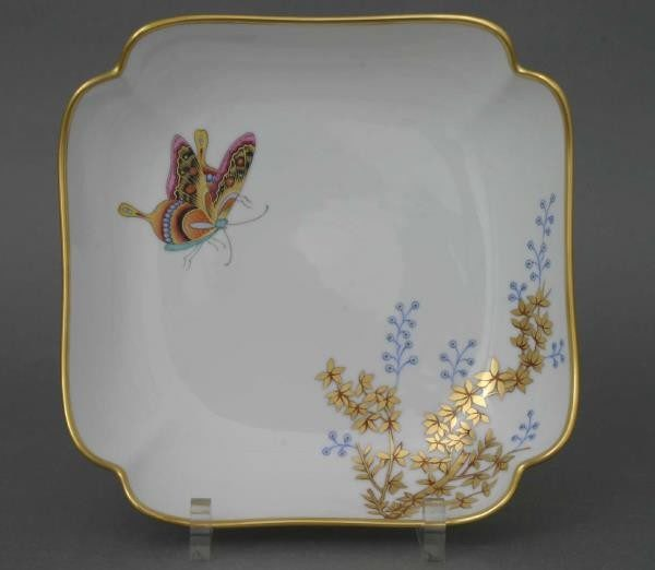Salad Dish - Bamboo & Butterfly