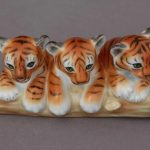 Baby Siberian tigers