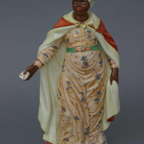 Moor woman with letter