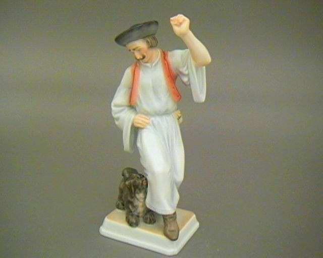 Dancing shepherd, with puli