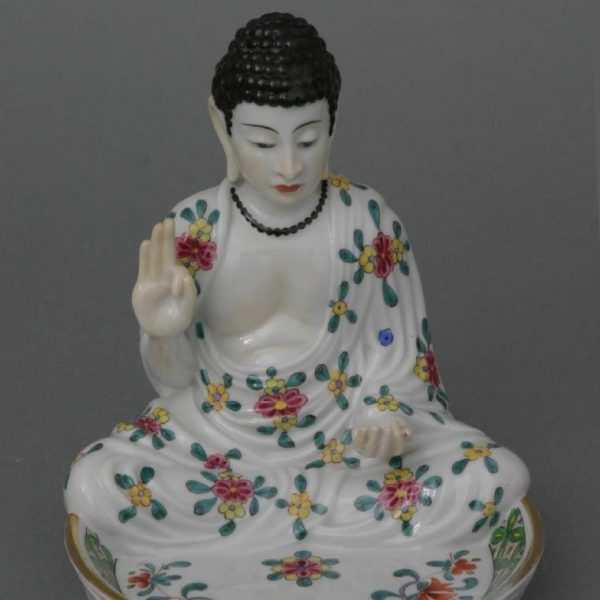 Buddha, with ashtray