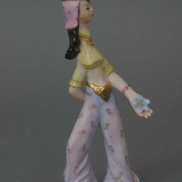 Persian Dancer Girl Figurine - Herend Porcelain
