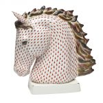 Herend HORSE BUST Figurine 15909-0-00