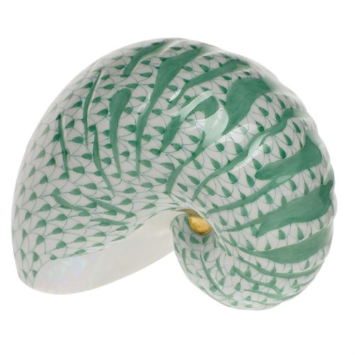 15253-0-00 VHV Nautilus Shell Animal Figurine