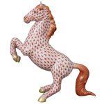 Prancing Horse - Fishnet Red