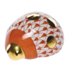 Lucky Ladybug - Herend Figurine Fishnet Colors