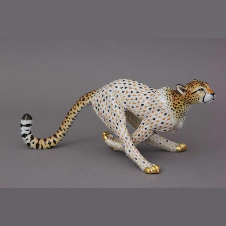 Cheetah, big - Natural - Fishnet