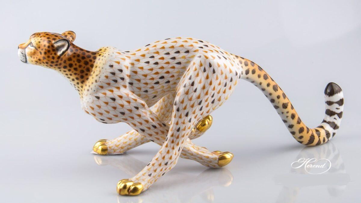 Guepard-Running Cheetah-Figurine15656-0-00-VHSP32-Herend-Animal-Figurine-3