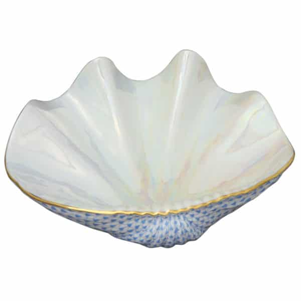 SVHB--05247-0-00 Giant clam shell - Limited Edition 250 pcs. - Fishnet Blue Limited Edition Size = 250