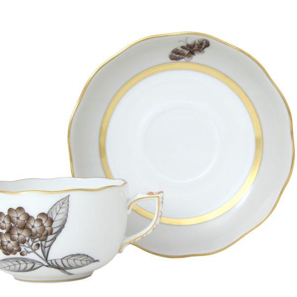 Teacup & saucer- Victoria Grande
