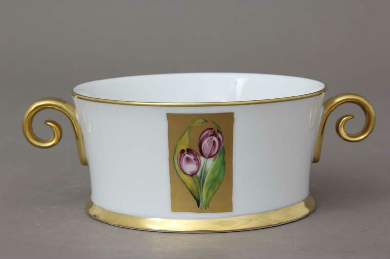 Tray with 2 handle - Hermitage