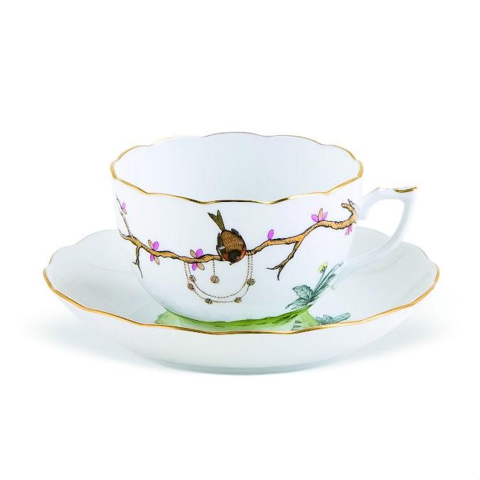 Teacup &s Saucer Victoria Grande