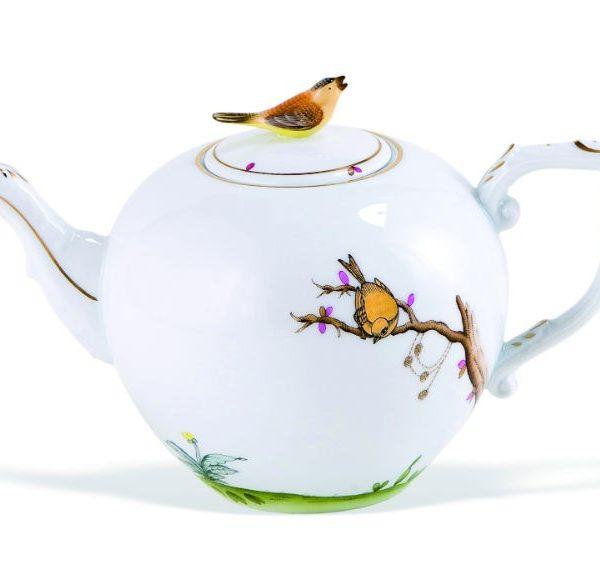 Teapot,twisted knob - Dream Garden