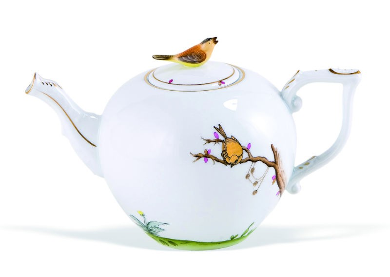 Teapot,twisted knob - Dream Garden