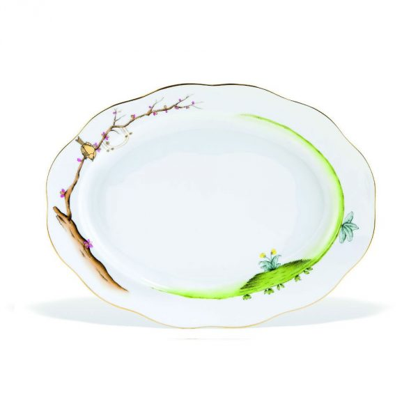 Oval dish - Dream Garden