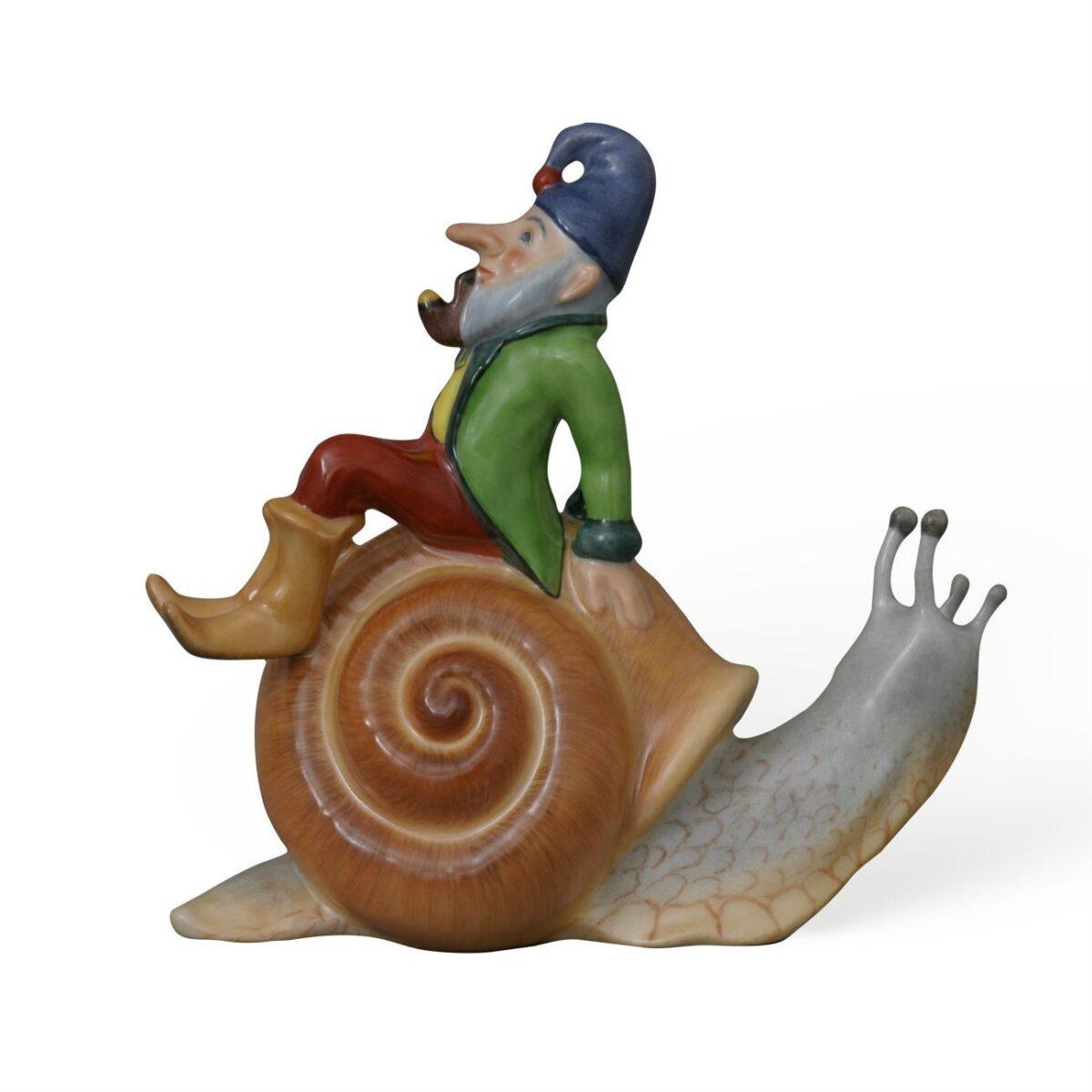 Kobold on Snail - Natural Color
