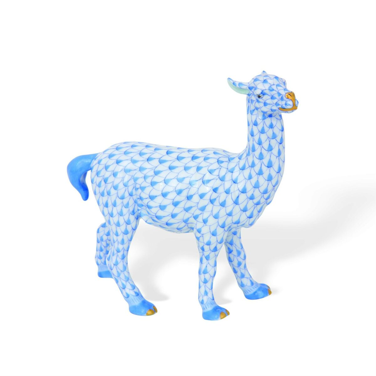 Llama - Fishnet Blue