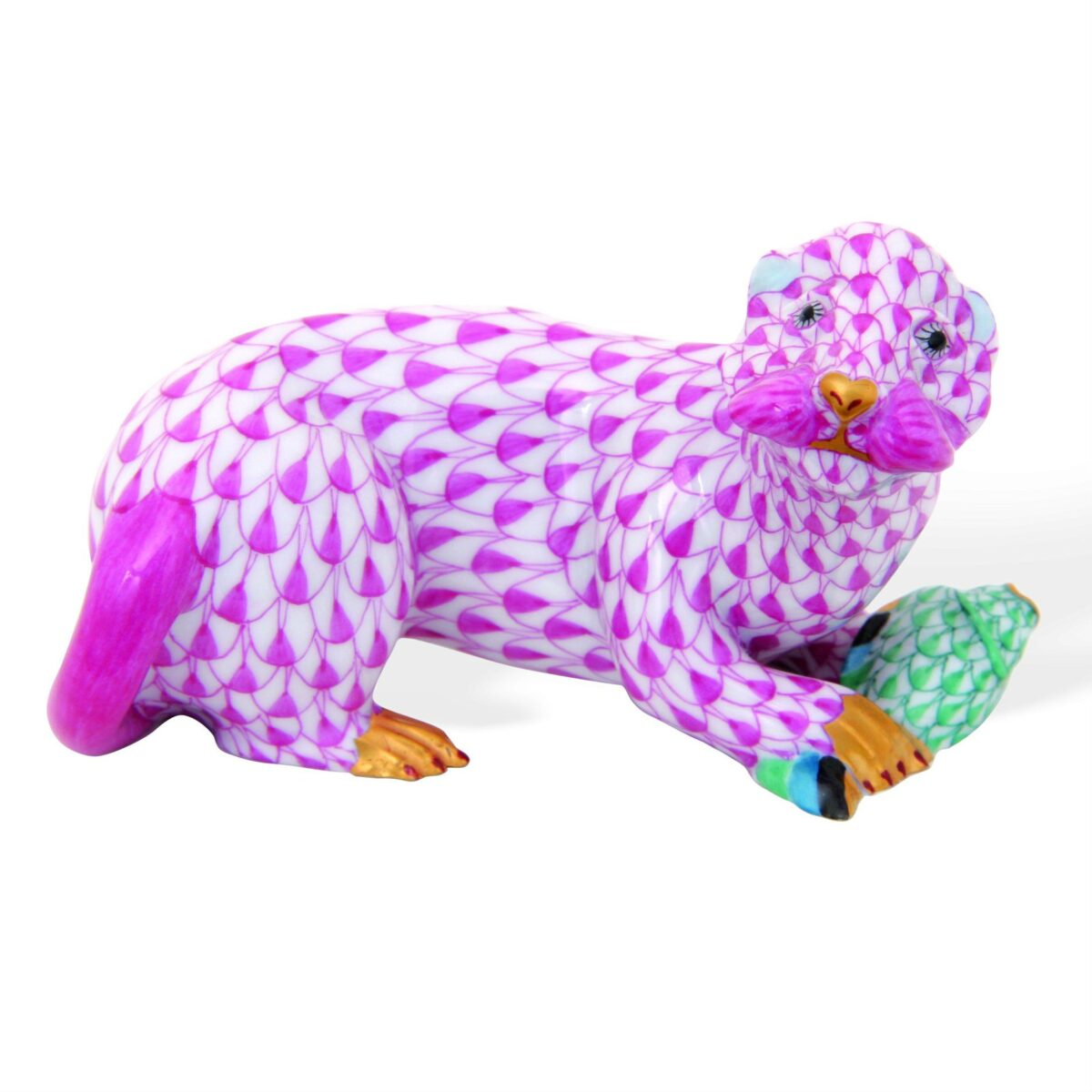 Otter w. fish