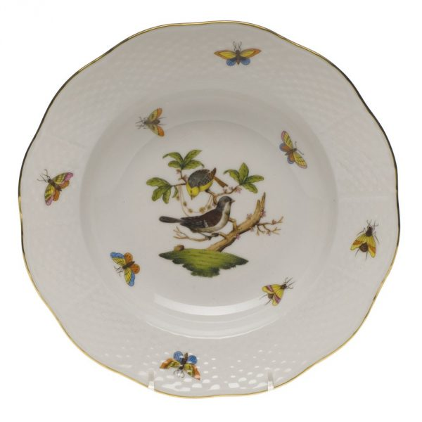 Rim soup plate-Rothschild Bird