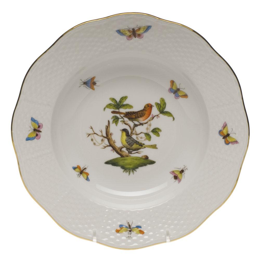 Rim soup plate-Rothschild Bird