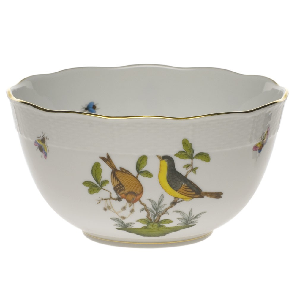 Round bowl - Rothschild Bird