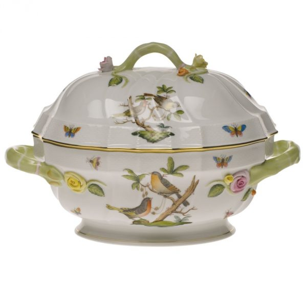 Soup tureen, branch knob - Rothschild Bird