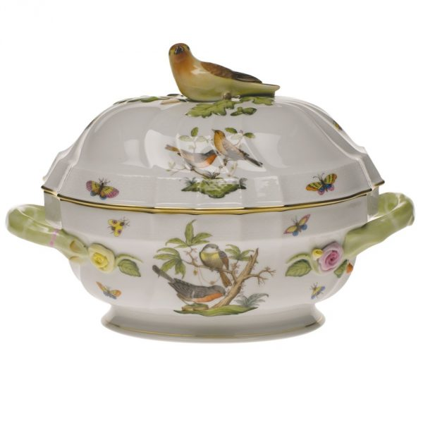Soup tureen,bird k. - Rothschild Bird