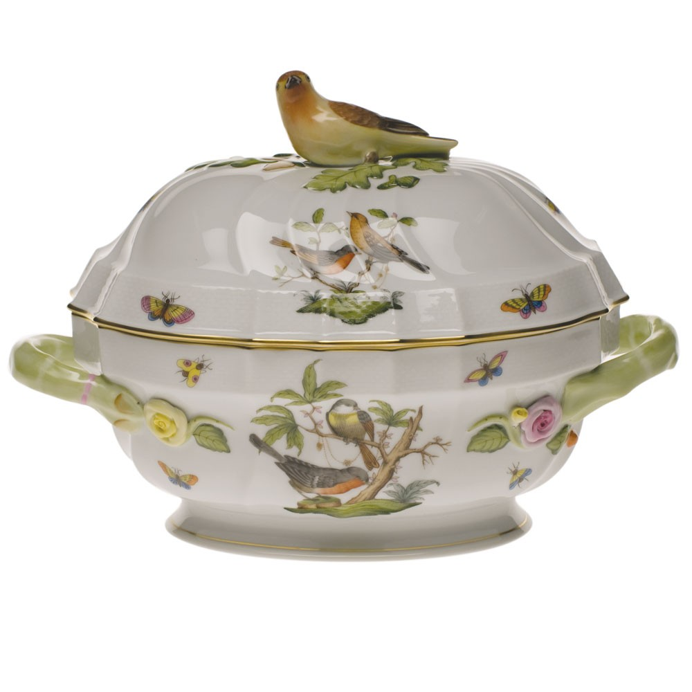 Soup tureen,bird k. - Rothschild Bird