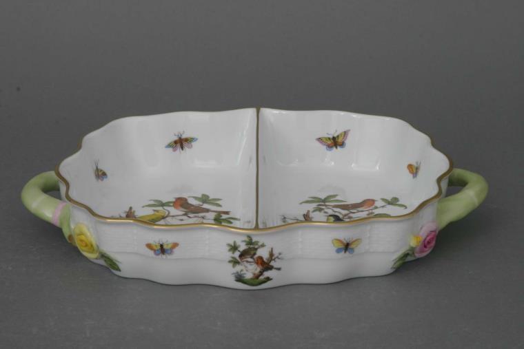 Hors D`oeuvre dish-Rothschild Bird