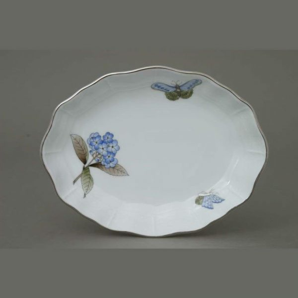 Oval dish - Chinese Bouquet Blue