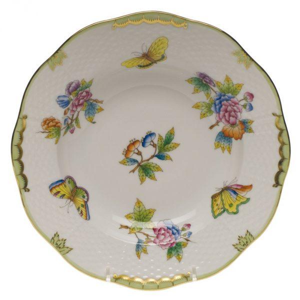 Rim Soup Plate- Queen Victoria