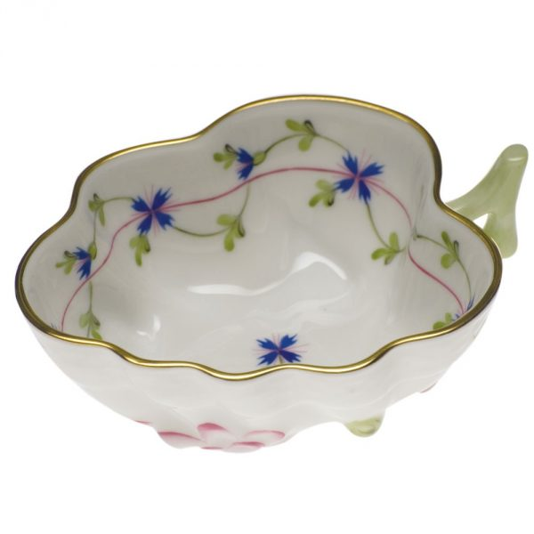 Sugar Bowl (Leaf shaped) - Petite Blue Garland