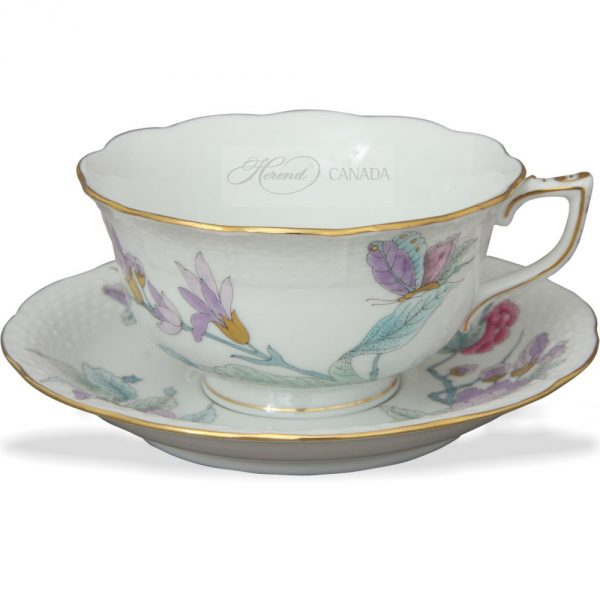 Teacup - Royal Flower Blue