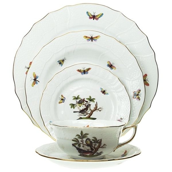 Place Setting - Rothschild Bird