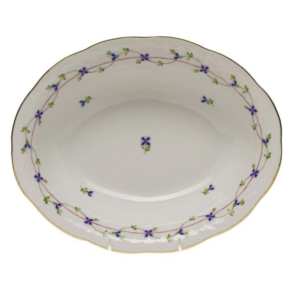 Oval bowl - Chinese Bouquet (Assorted Colors)